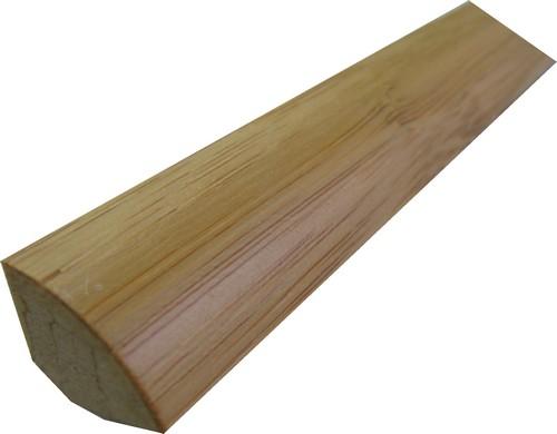 PA-1/4 de rond doubles essence bambou foncé 731/1430