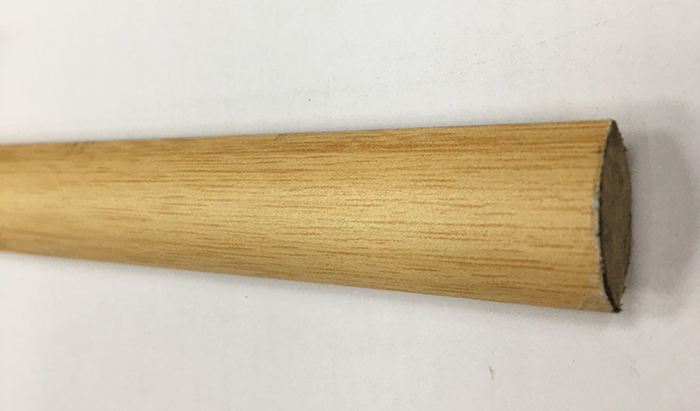 1/4 de rond bambou clair