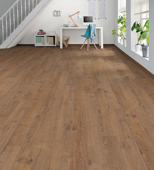Sol stratifie decor bois - Chene portland ambre authentique loft go-4 tritty100 - lot fin de serie 17.94m²