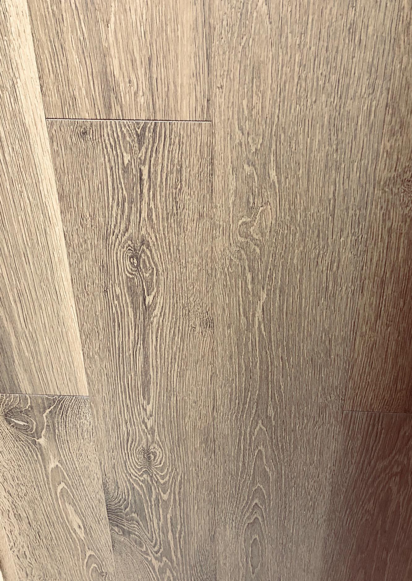 Parquet flottant chêne huile - Chêne multiply rustique huilé fume sancerre- 145x14.2x1820