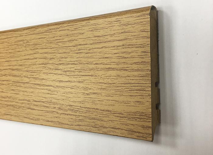 Plinthe de haute qualite - Plinthe mdf finition chene 80x15 (0620)