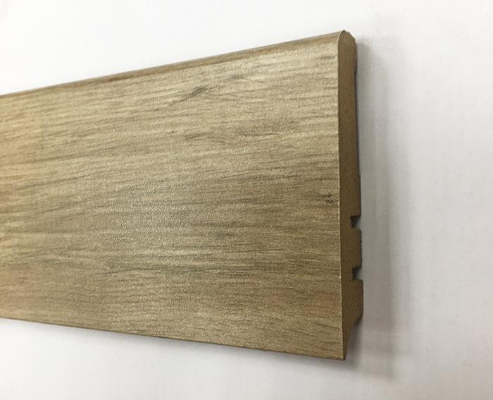 Plinthe de haute qualite - Plinthe mdf finition chene gris vert madrid 80x15 (1140)