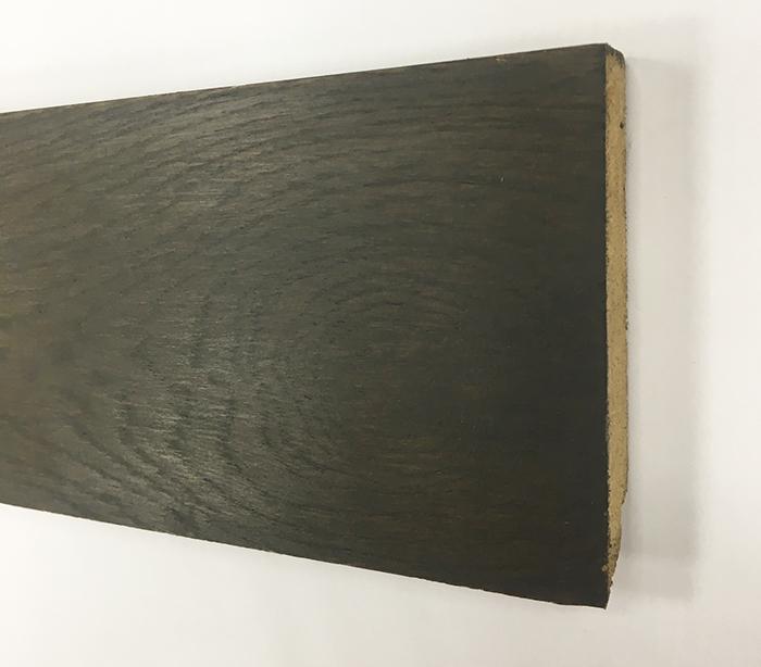 PLINTHE chêne MASSIF huilé ASSORTIE KREMBO 90x15x2400