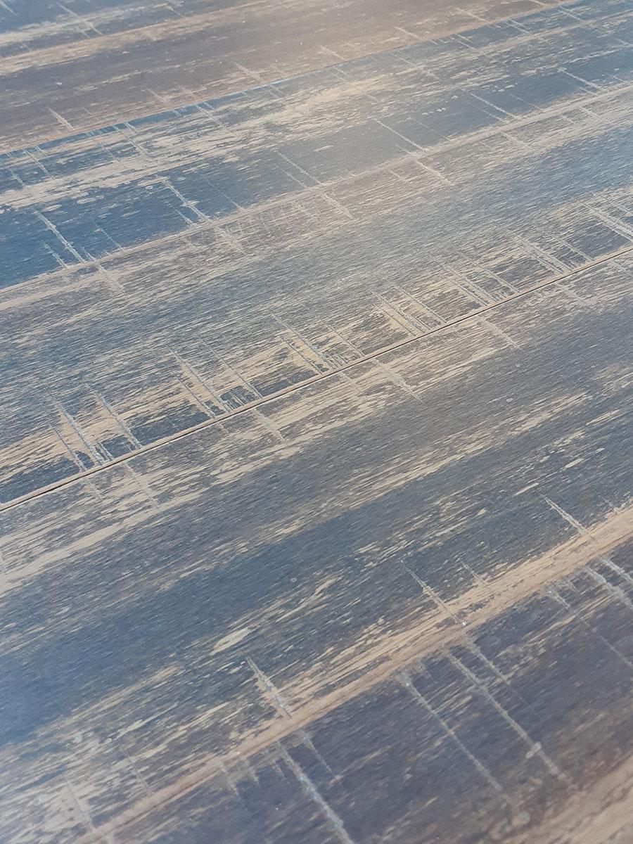 Parquet bambou massif - Parquet massif verni fossil 1850x142x12mm