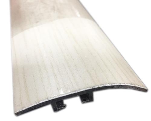 Barres de seuil allu recouvert - Barre de seuil de jonction hêtre blanc (3278) 0.93m