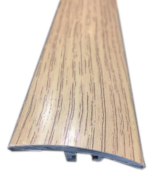 Barres de seuil allu recouvert - Barre de seuil diff de niveau finition chêne clair 0.93ml (45415) 4 cm