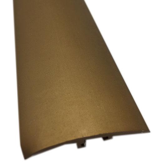 BARRE DE SEUIL DIFFERENCE DE NIVEAU BRONZE MAT (41214) 0.93m 4cm H.SOL 13mm