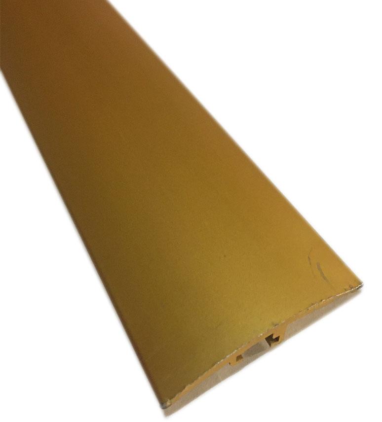 Barres de seuil allu recouvert - Barre de seuil gold jonction 2.70ml (69150) 4cm