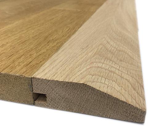 Barres de seuil bois massif - Découvrez les accessoires indispensables pour une pose facile de votre parquet massif, flottant