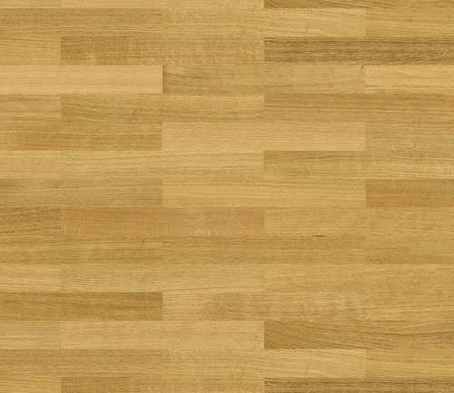 Parquet flottant chêne verni - Baton rompu chene contrecolle miel select verni 70x10 l490<br /> (compatible avec sol raffraîchissant) - certifié pefc 70%