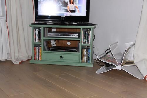 CHENE MASSIF RUSTICA PLUS HUILE MUD LIGHT 150x15 mm   - Prix-parquet.com