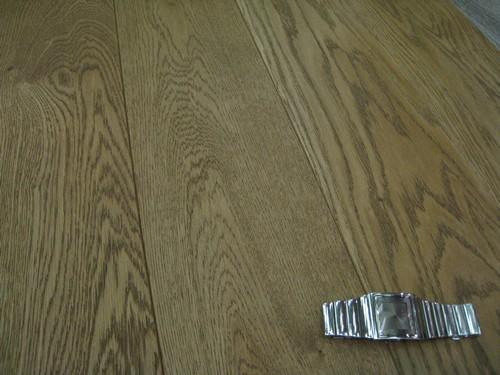 ch�ne MASSIF RUSTICA PLUS huil� bross� MARRON GLACE 150x15mm - Parquet-massif.net