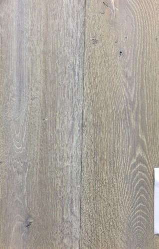 chêne MASSIF huilé VIEILLI A LA MAIN BRUME 180x20 L2600 LOT DE 13.10m²<br />  - Parkett.fr