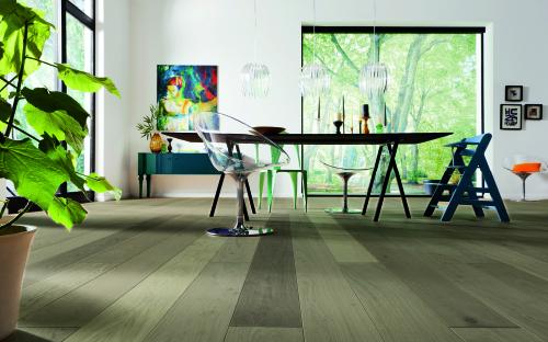 CHENE MASSIF HUILE GRIS 120x15 - Prix-parquet.com