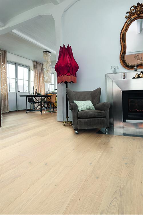 Chêne massif rustique nude aspect bois brut huilé 200x20 l800 - l2000 - certifié fsc 100 %