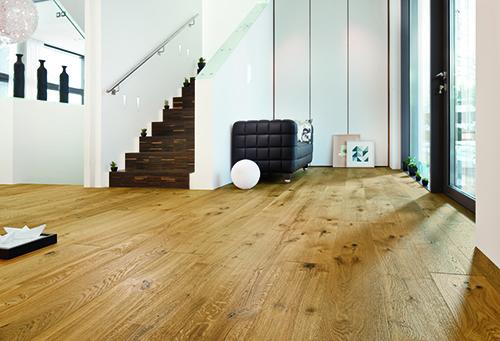 Chêne massif rustique invisible 160x20x900-2200 - certifié fsc 100 %