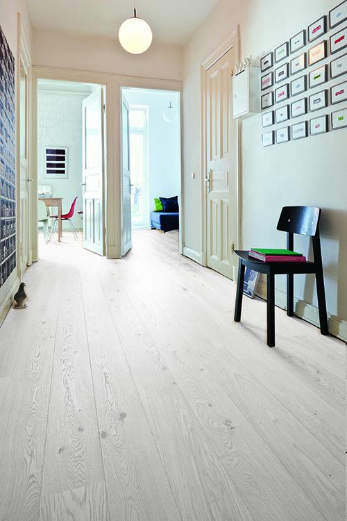 Chêne massif huile brosse rustique blanchi 120x15x 800-2200 certifié fsc 100 %