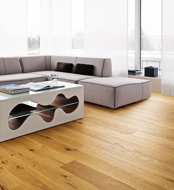 CHENE MASSIF HUILE RUSTIQUE NATUREL 90x20x900mm Certifié FSC 100 %<br />  - Prix-parquet.com