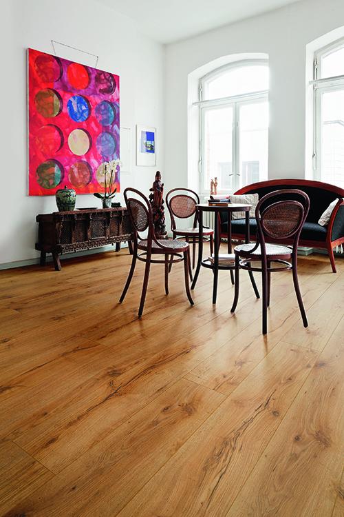 Chêne massif verni lisse rustique sables du sahara 160x14 go-4 - certifié fsc 100 %