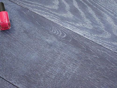 Parquet sol stratifie et contrecolle for Parquet gris bleu