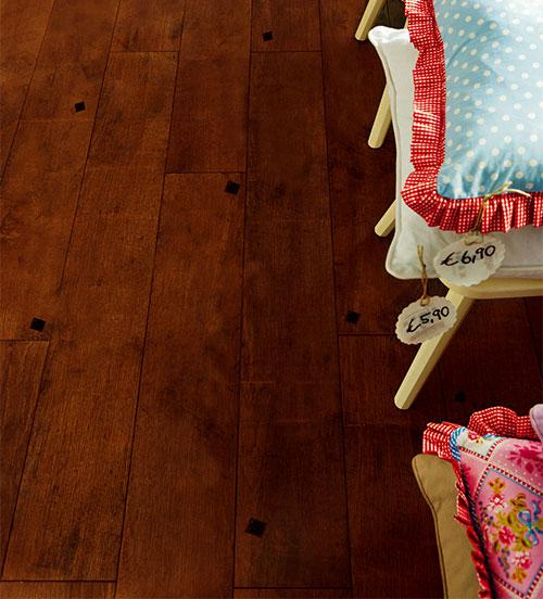 Parquet flottant chêne huilé - Chêne multiply rustique huile vienne 190x22x6mm de bois noble +<br />