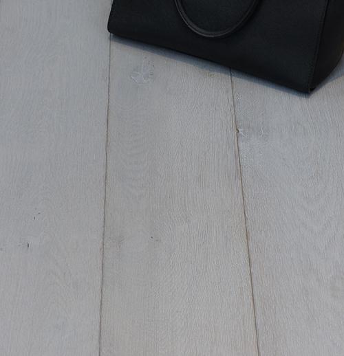 Parquet flottant chêne huile - Chêne multiply rustique selection pré huilé gris nacre - 180x14x2400 4mm