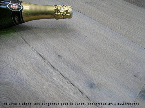 Lots fin de série - Ch&ecirc;ne multiply rustique huil&eacute; argente 190x15 4mm de bois - lot de 15.19m&sup2;<br />