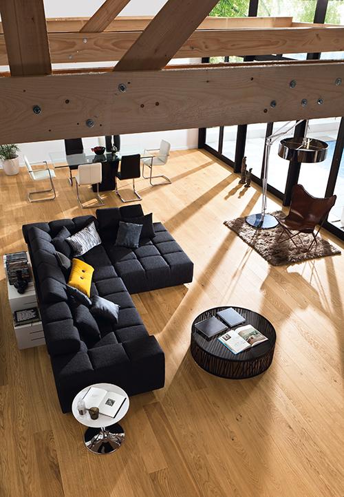 CHENE FLOTTANT AUTHENTIQUE SABLE VERNI BROSSE 180x15 - Prix-parquet.com