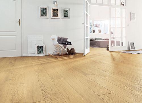 CHENE CONTRECOLLE SAN MARCO VERNI UV BROSSE AUTHENTIQUE 120x15x4mm de bois noble GO2<br />  - discount-parquet.fr