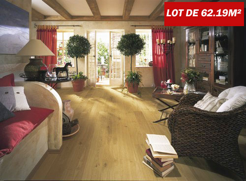 CHENE CONTRECOLLE SAN MARCO VERNI UV BROSSE RUSTIQUE 152x15x4mm de bois noble GO2<br />