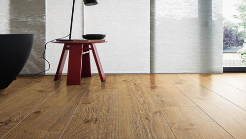 Sol stratifie decor bois - Chene portland nature authentique planche large tt75 - fin de serie