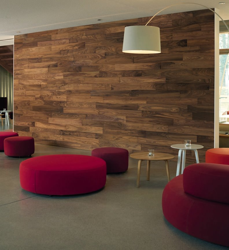HARO INTERIOR WALL PATAGONIA 1000X120X11.20 NOYER AMERICAIN RIVER BR RELIEF HUILE