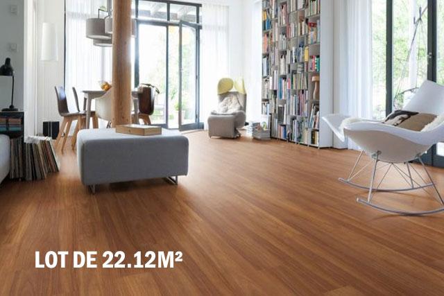 Parquet pour votre chambre ou séjour en bois, massif, contrecollé flottant ou stratifié en Iroko - Iroko contrecolle verni lisse brillant monolame go-4 145x14.2x1820mm