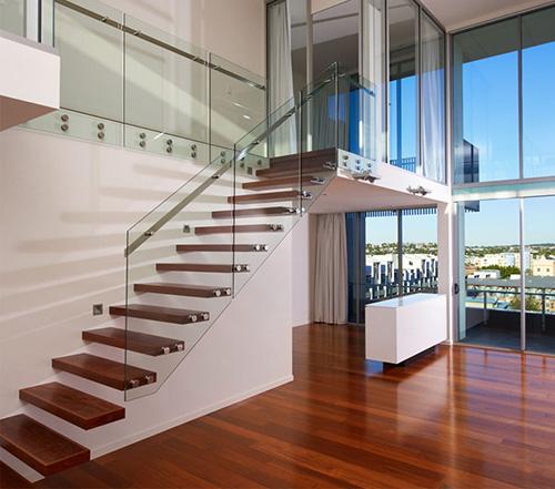 Loft en Jatoba style contemporain