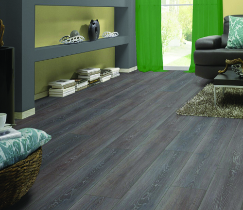 Sol stratifie decor bois - Chene stratifie stirling - gamme exquisit- 1380mmx193mmx8mm - certifié fsc mix credit