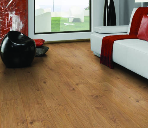 Krono exquisit - Chene stratifie atlas nature - gamme exquisit- 1380mmx193mmx8mm - certifié fsc mix credit