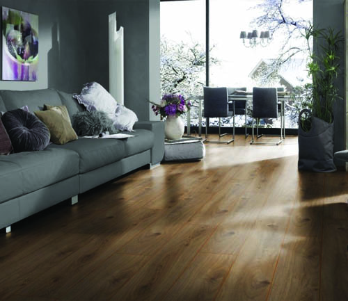 Krono exquisit - Parquet sol stratifie chene prestige nature - gamme exquisit- 1380mmx193mmx8mm - certifié fsc mix credit