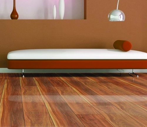 Sol stratifie decor bois - Chene stratifie canyon plum - glamour - 1380mmx193mmx8mm