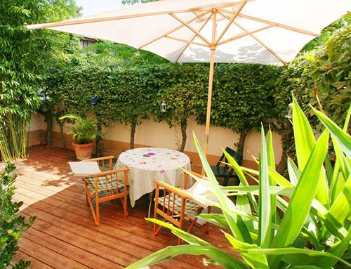 Lame de terrasse kempas brut aboutée 120x19 - certifié fsc 100 %