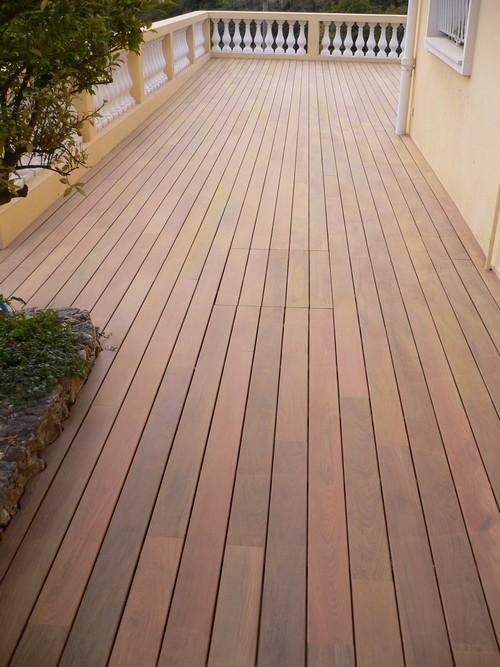 Lame de terrasse ipe brut lisse 2 faces 145x21 l970