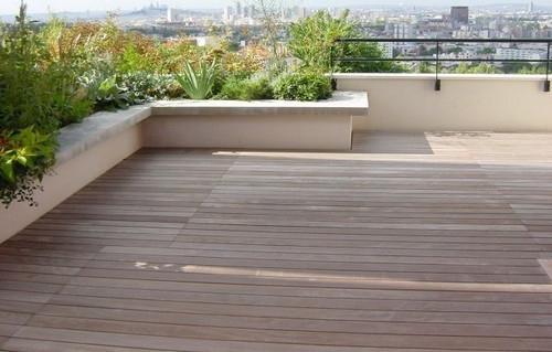 Lame de terrasse ipe brut lisse 2 faces 145x21 l1270