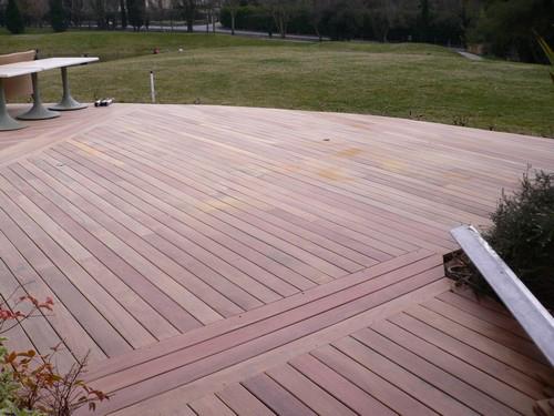Lame de terrasse ipe brut lisse 2 faces 145x21 l1880