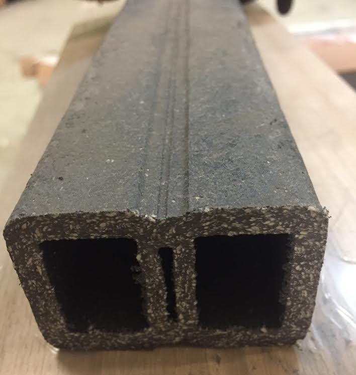 Lames de terrasse composite - Rail de support pour lame de terrasse composite 40mm (lambourdes)