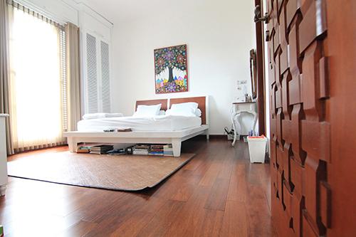 Merbau - Parquet merbau massif verni glossy imperial go4 90x15mm