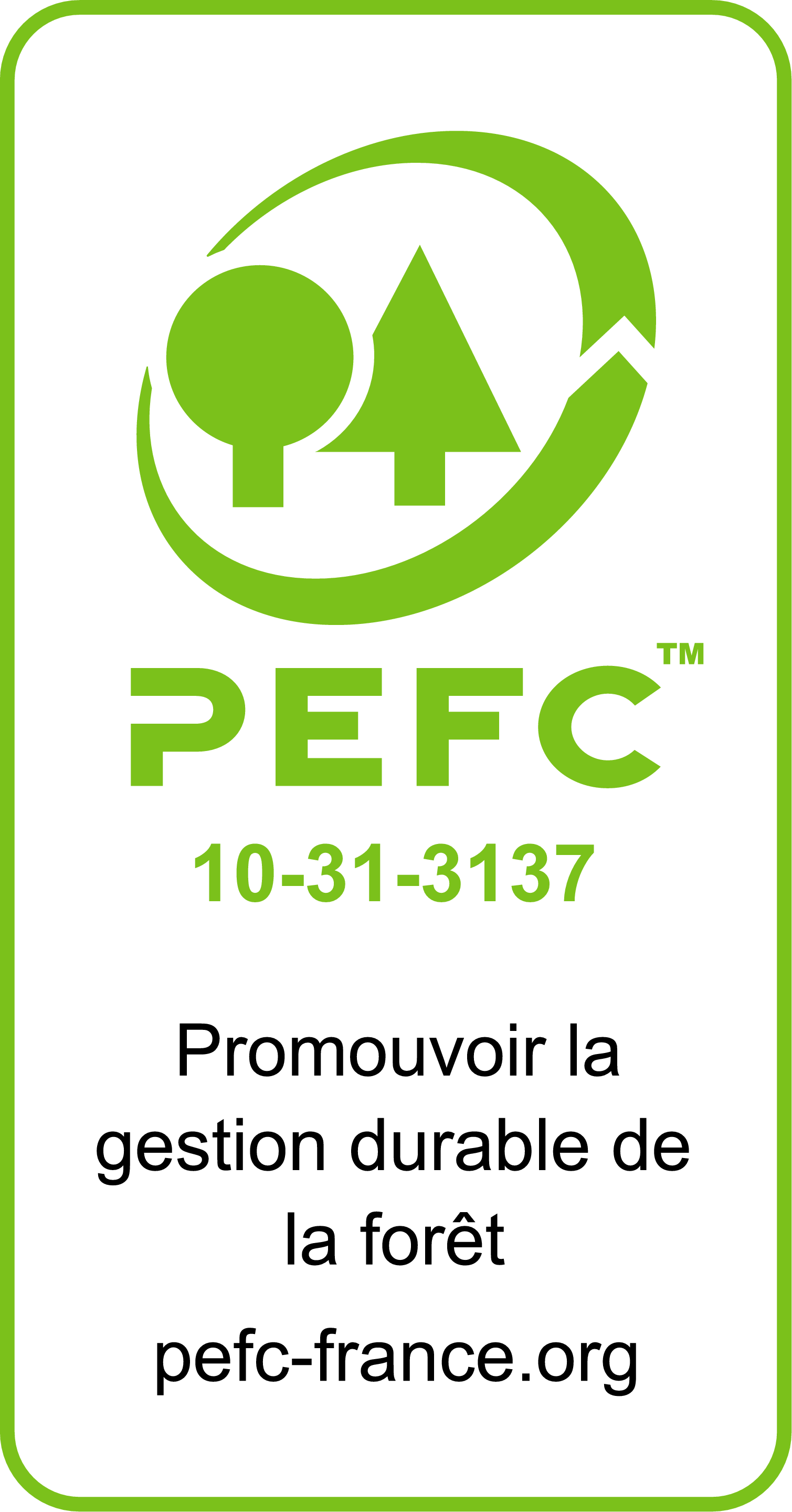 Parquet certifié PEFC