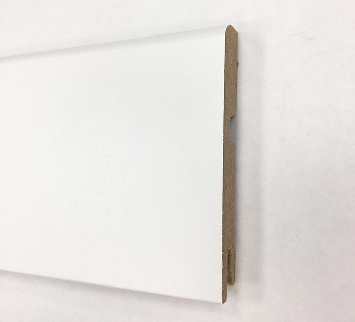 Plinthe de haute qualite - Plinthe mdf blanc 95x15 dinachoc p951 - certifié pefc 70%