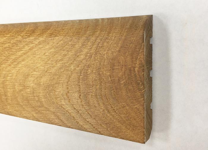 PLINTHE chêne MASSIF VERNI 70x14mm 1500 - 2000 PR