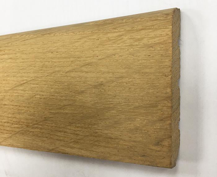 PLINTHE chêne MASSIF BRUT 70x14mm