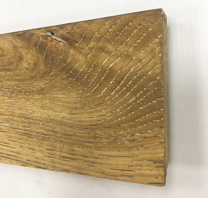 PLINTHE chêne MASSIF huilé ASSORTIE MADAGASCAR 90x15x2400
