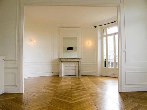 POINT DE HONGRIE chêne MASSIF VERNI BROSSE PR 120x14x780 GO-4 - Certifié FSC 100 % - Parkett.fr